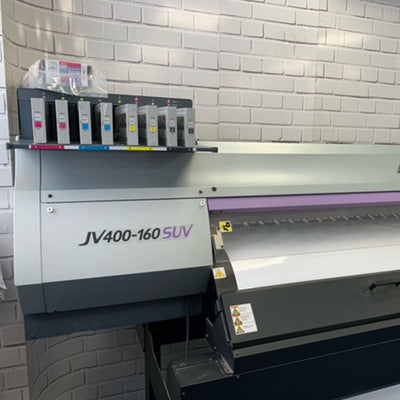 USED Mimaki CJV150-130 Solvent Printer / Cutter