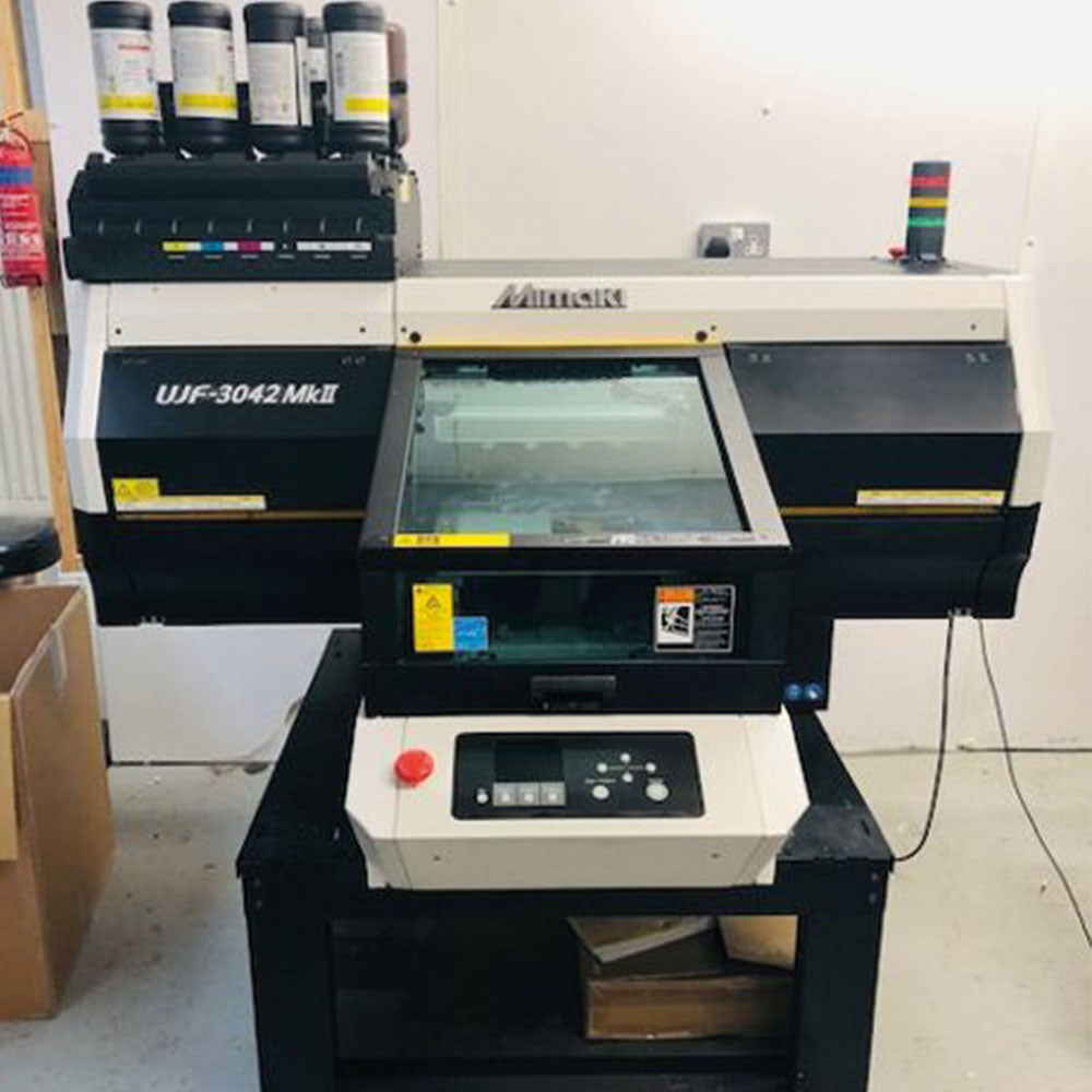 EX-DEMO Mimaki UJF3042MKII Flatbed Printer