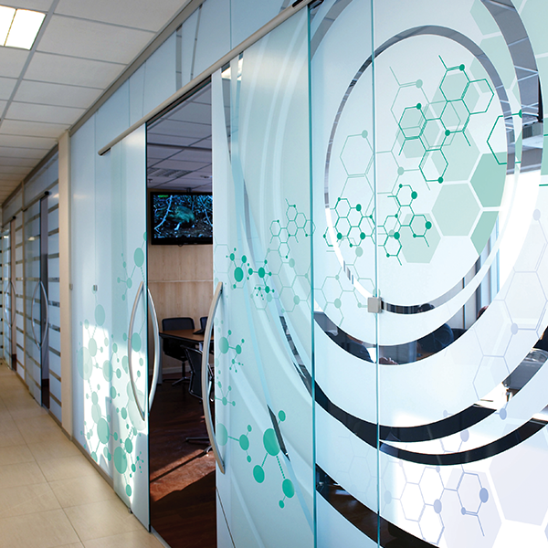 ViziPrint Deco SR Scratch-Resistant Window Film