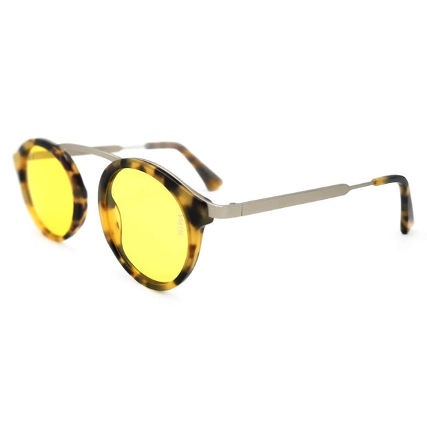 Cambridge exclusive round sunglasses turtoise frame high nose bridge medium size metal frame