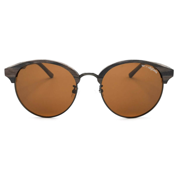 clubmaster sunglasses that look like wood
