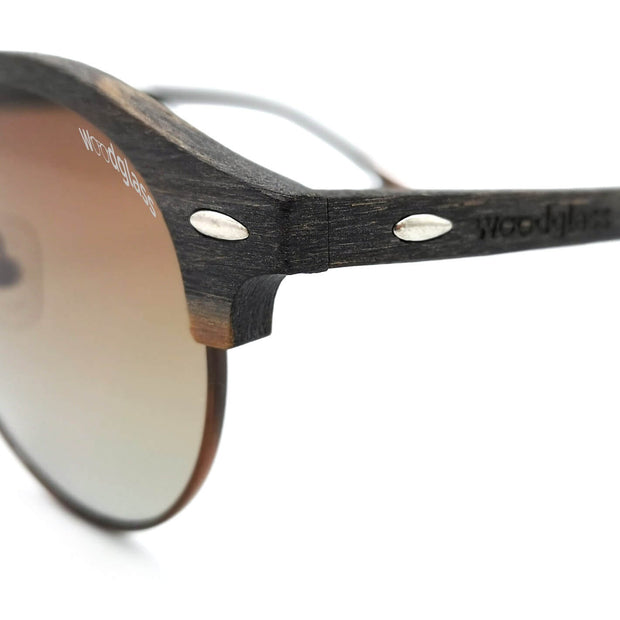 CE 3 wooden sunglasses