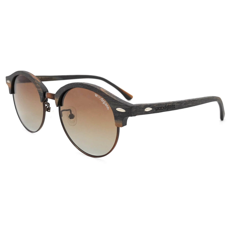 UV400 wooden sunglasses