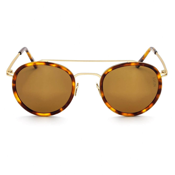 Turtoise aviator style sunglasses
