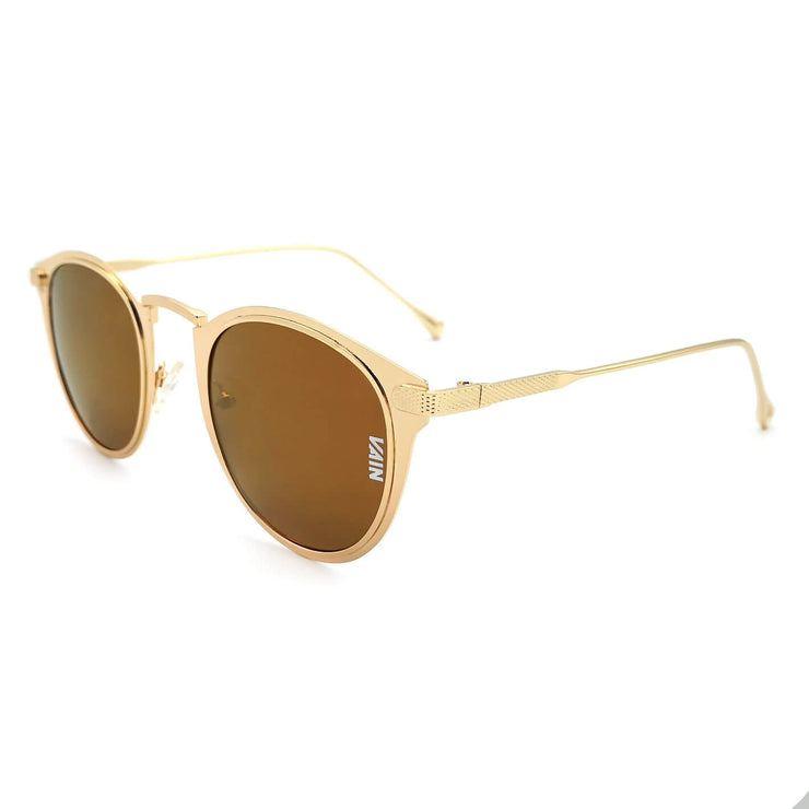 Gold cat sunglasses