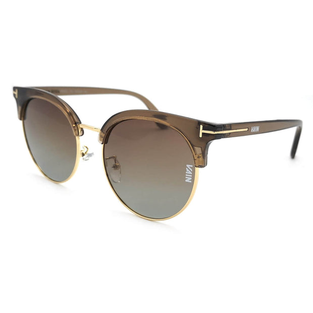 Miami cat style sunglasses large size from VAIN sunglasses, polarized and CE3 UV400 coated