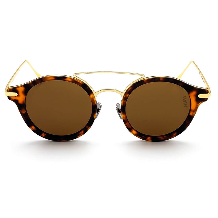 Turtoise round sunglasses