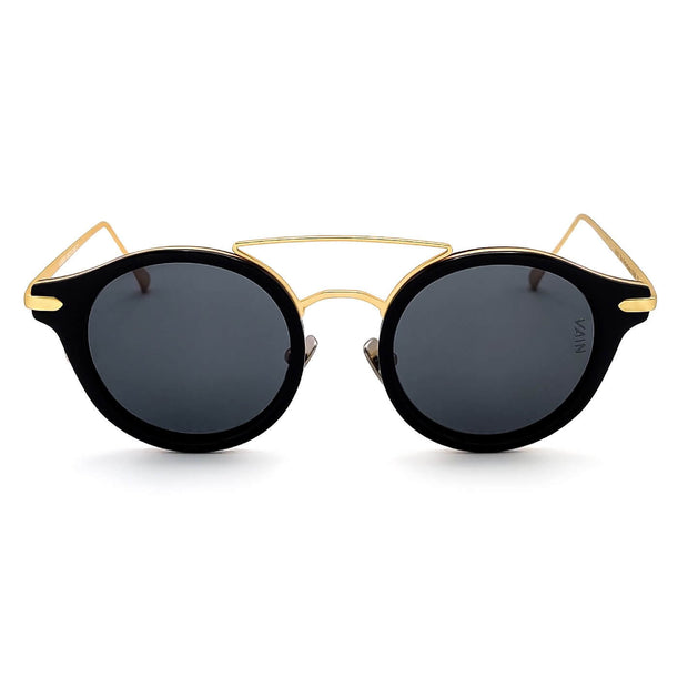 Monaco round style sunglasses from VAIN, unique luxury sunglasses