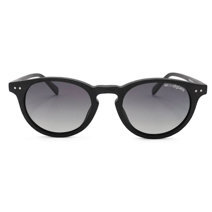 Pinnacle charcoal log wood immitation sunglasses from Woodglass