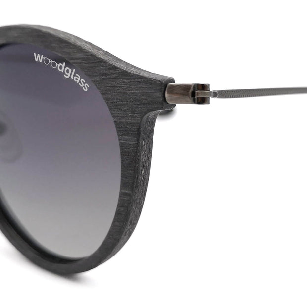 Wood immitation sunglasses