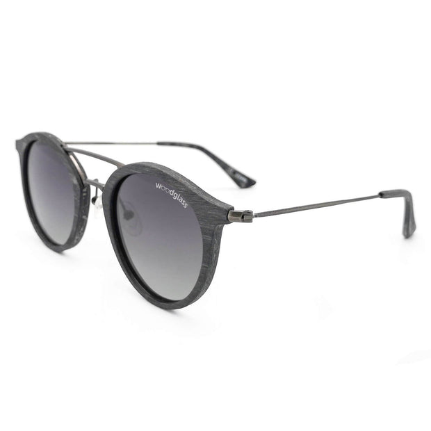 Charcoal wooden sunglasses