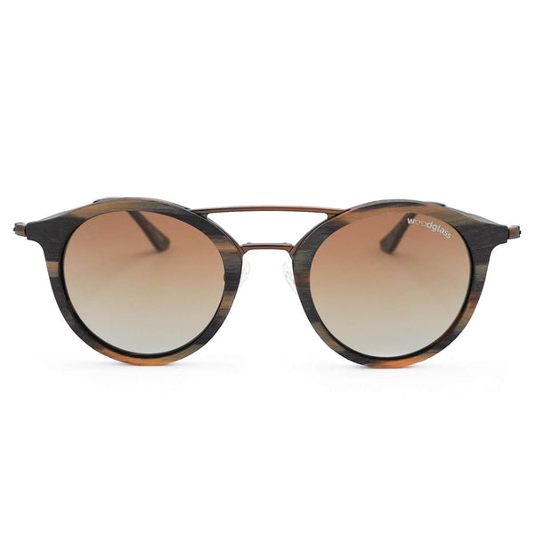 Timber round sunglasses