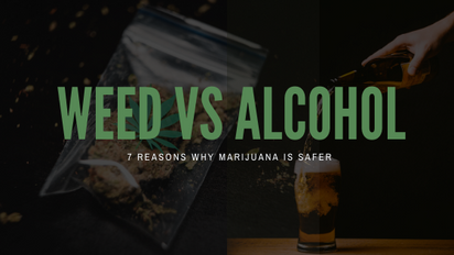 7 Reasons Why Marijuana is Safer than Alcohol