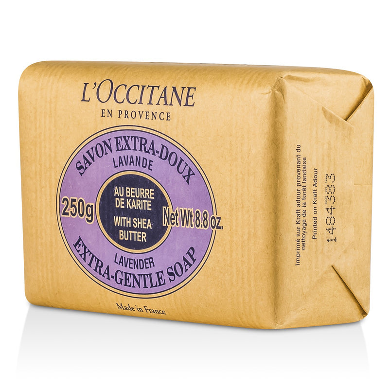Shea Butter Extra Gentle Soap Lavender 43646
