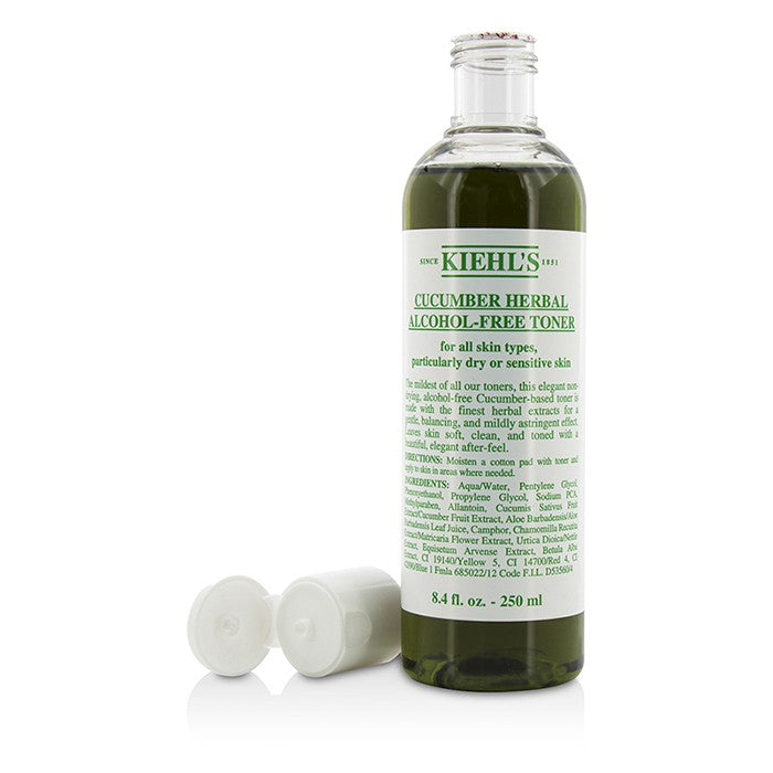 Cucumber Herbal Alcohol Free Toner For Dry Or Sensitive Skin Types 44523