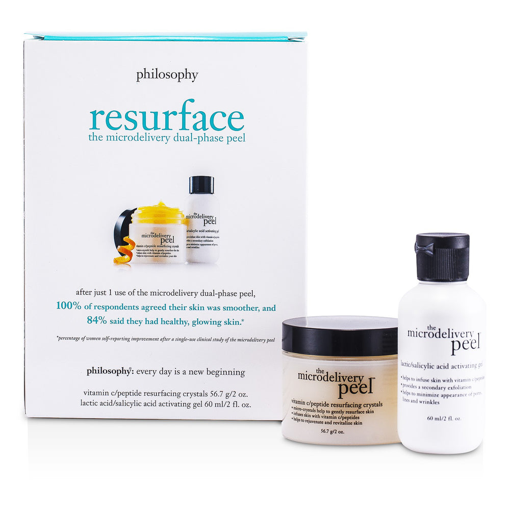 The Microdelivery Peel: Lactic/Salicylic Acid Activation Gel + Vitamin C Resurfacing Crystal 47631