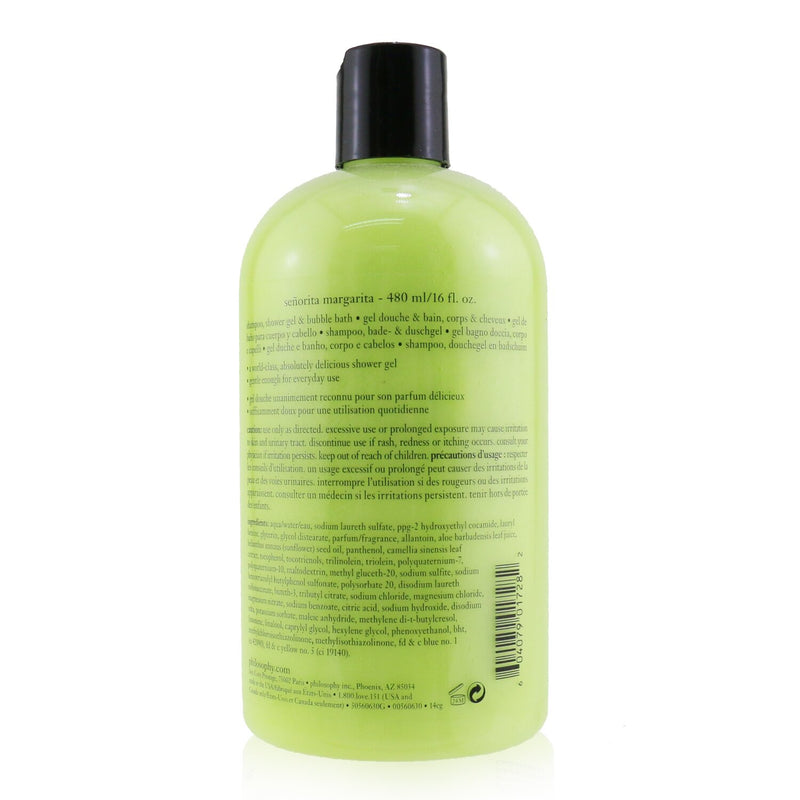 Senorita Margarita Shampoo, Bath & Shower Gel 56490