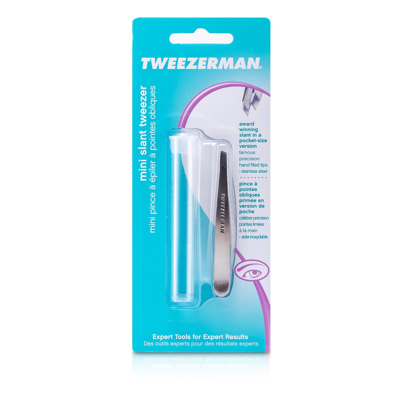 Mini Slant Tweezer (Classic Stainless) 72307
