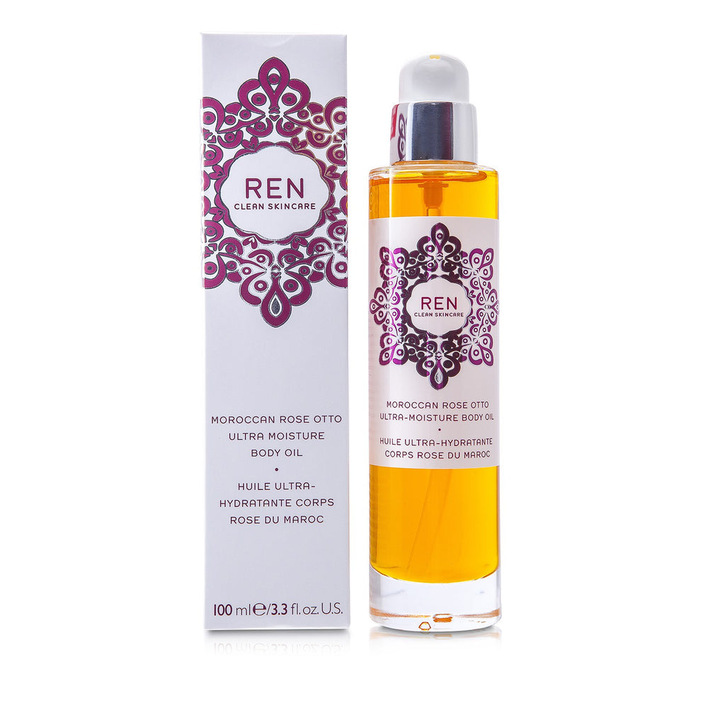 Moroccan Rose Otto Ultra Moisture Body Oil - Ren - Frenshmo