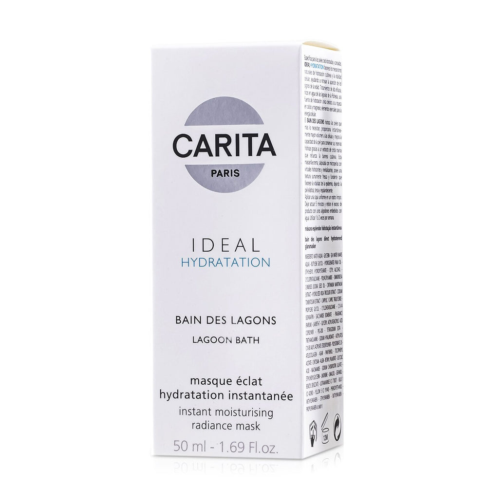 Ideal Hydratation Lagoon Bath Instant Moisturising Radiance Mask 82573