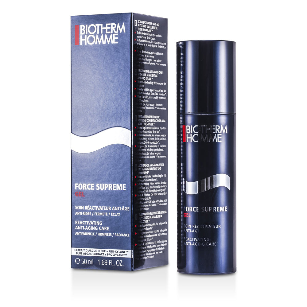 Homme Force Supreme Total Reactivator Anti Aging Gel Care 113641