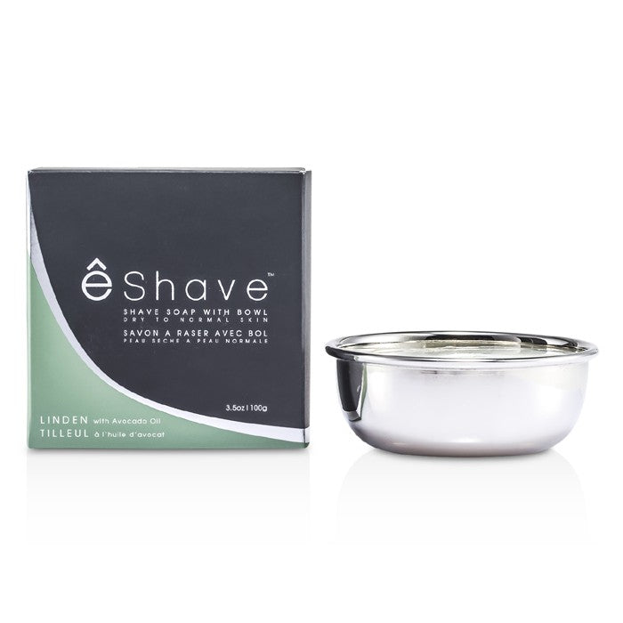 Load image into Gallery viewer, Shave Soap With Bowl Avocado Oil & Linden 122451