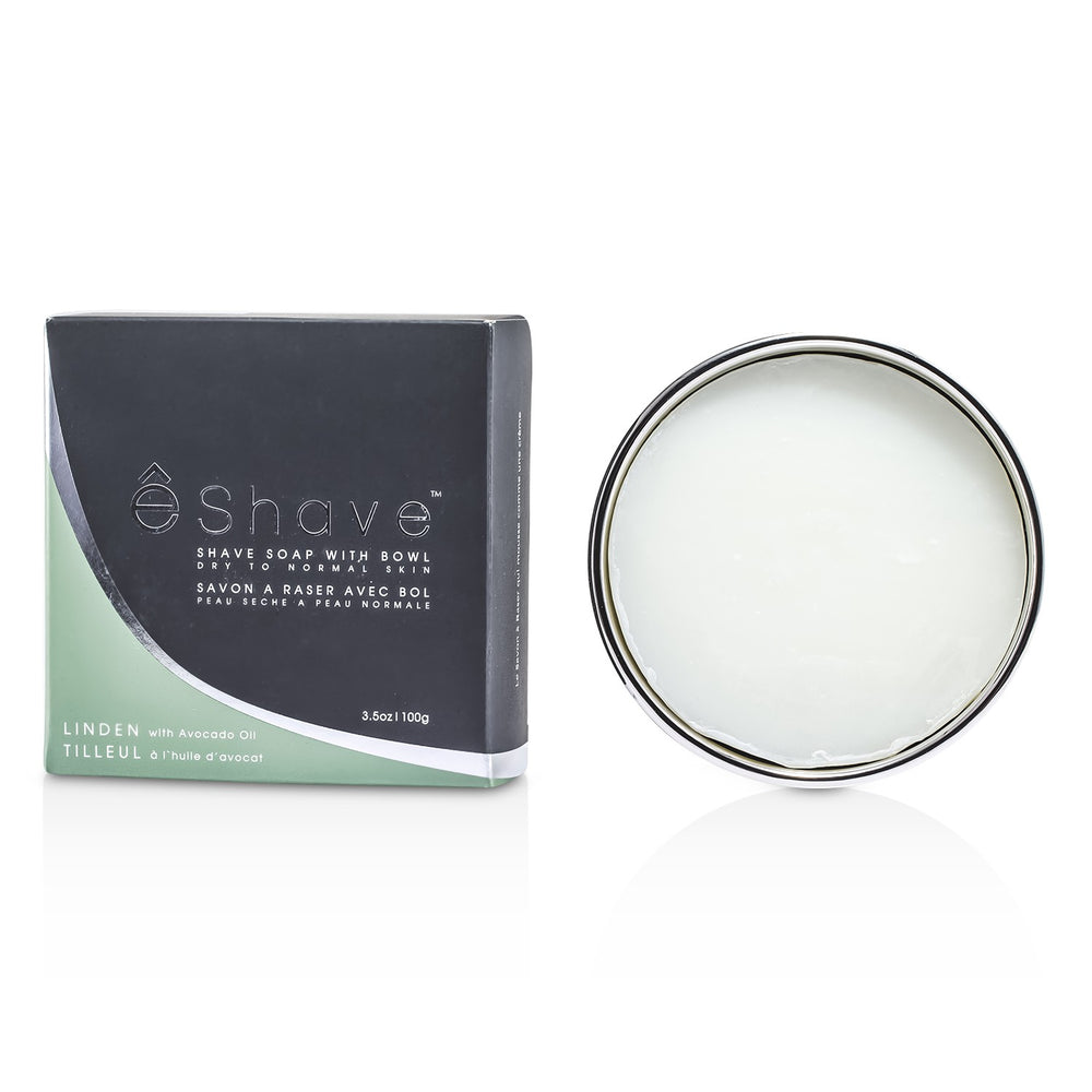 Shave Soap With Bowl Avocado Oil & Linden 122451