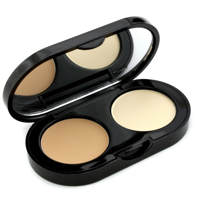 New Creamy Concealer Kit Beige Creamy Concealer + Pale Yellow Sheer Finish Pressed Powder 140818