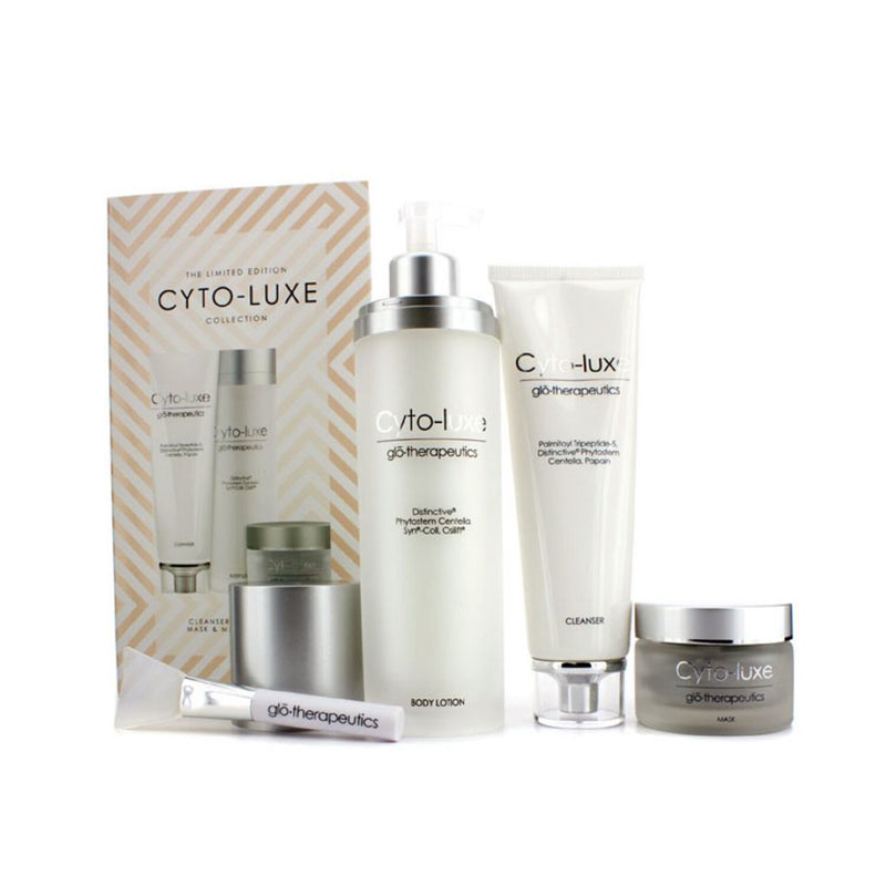 Cyto Luxe Collection (Limited Edition): Body Lotion + Cleanser + Mask + Mask Applicator 165678