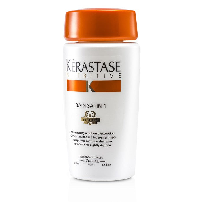 Nutritive Bain Satin 1 Exceptional Nutrition Shampoo (For Normal To Slightly Dry Hair) 167150