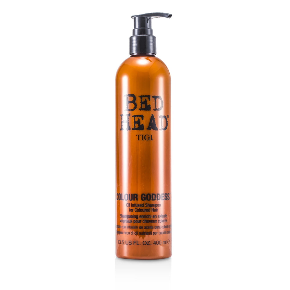 Bed Head Colour Goddess Oil Infused Shampoo (For Coloured Hair)