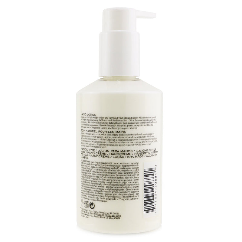 Ginger Hand Lotion 0 F46 174884