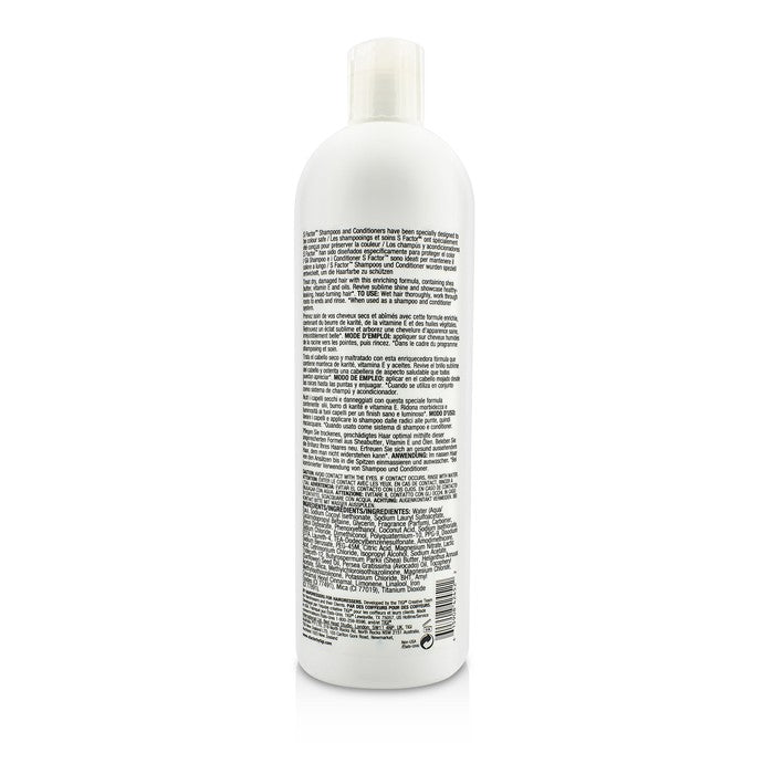 S Factor Health Factor Shampoo (Sublime Softness For Dry Hair) 183339