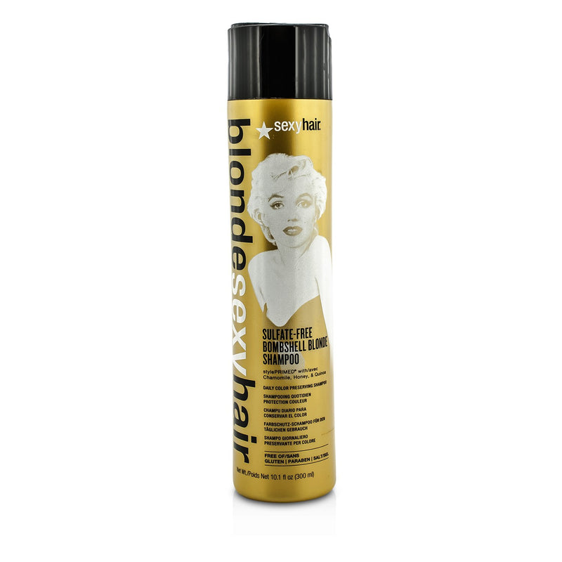 Blonde Sexy Hair Sulfate Free Bombshell Blonde Shampoo (Daily Color Preserving) 186256