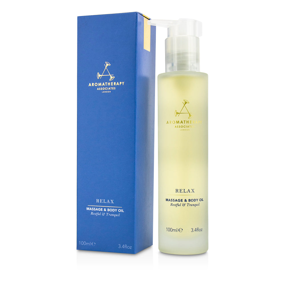 Relax Massage & Body Oil 189545