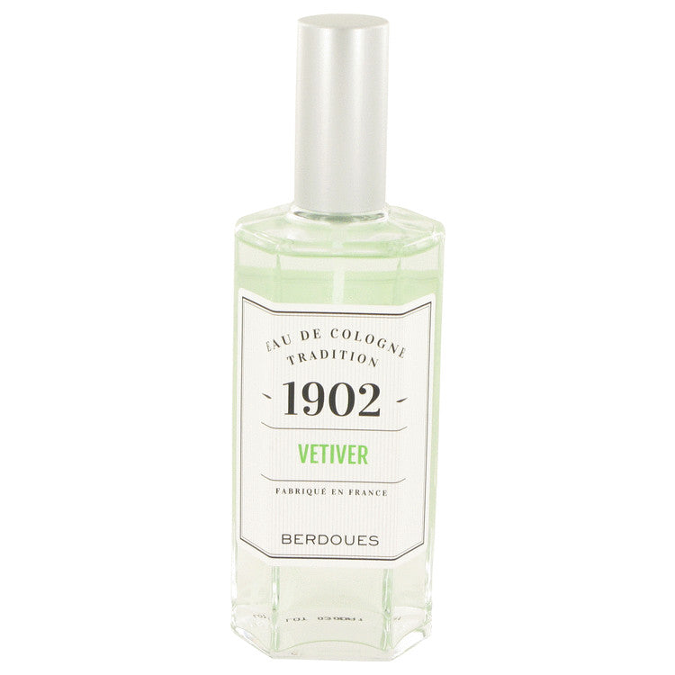1902 Vetiver Eau De Cologne Spray (Unisex) By Berdoues 533292