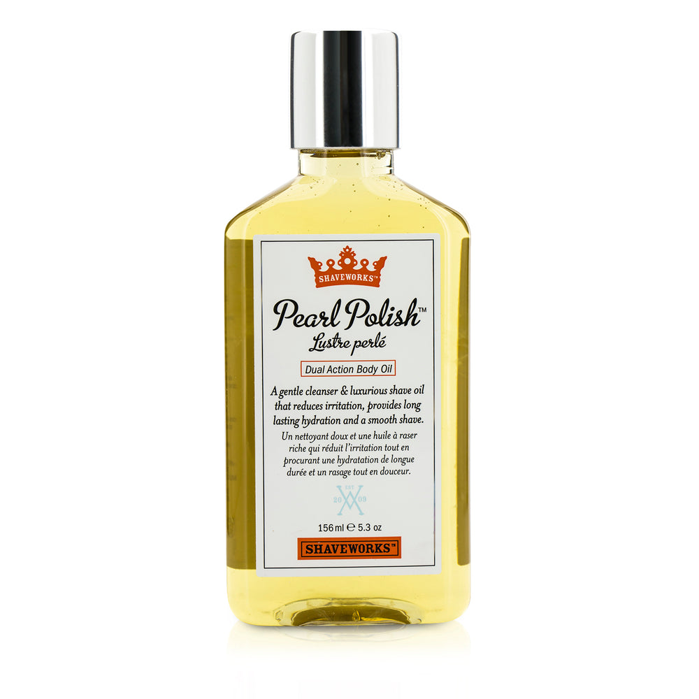 Shaveworks Pearl Polish Dual Action Body Oil 192716