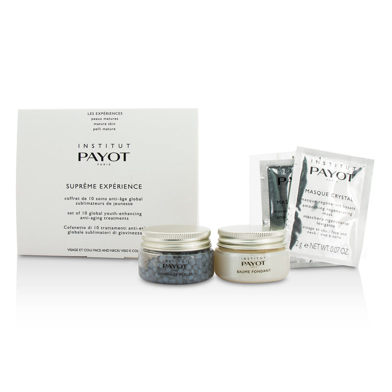 Supreme Experience Set: Gommage Perles 30g/1.05oz + Baume Fondant 30g/1.05oz + Masque Crystal 10applications 199052