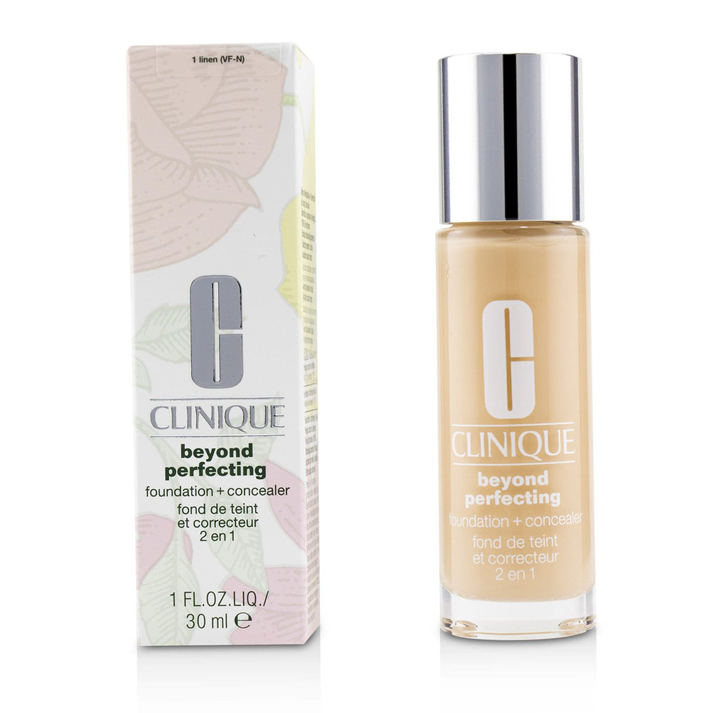 Beyond Perfecting Foundation & Concealer   # 01 Linen (Vf N)