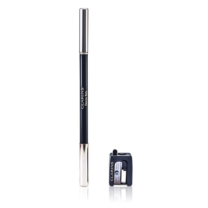 Long Lasting Eye Pencil With Brush   # 01 Carbon Black (With Sharpener)