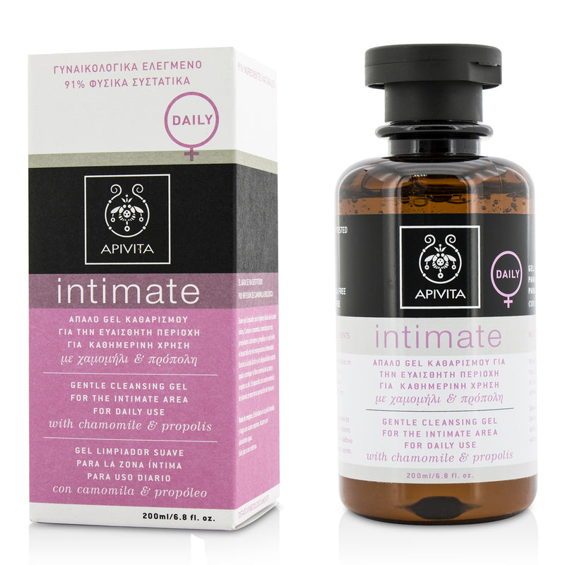 Intimate Gentle Cleansing Gel For The Intimate Area For Daily Use With Chamomile & Propolis 201147