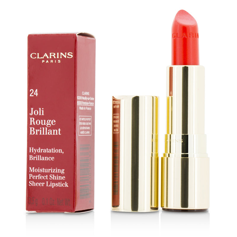 Joli Rouge Brillant (Moisturizing Perfect Shine Sheer Lipstick)