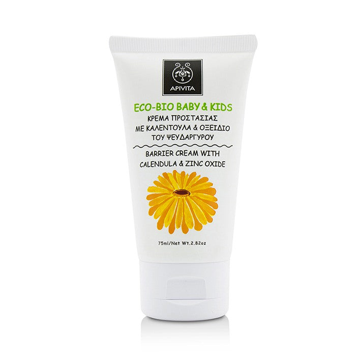 Eco Bio Baby & Kids Barrier Cream With Calendula & Zinc Oxide