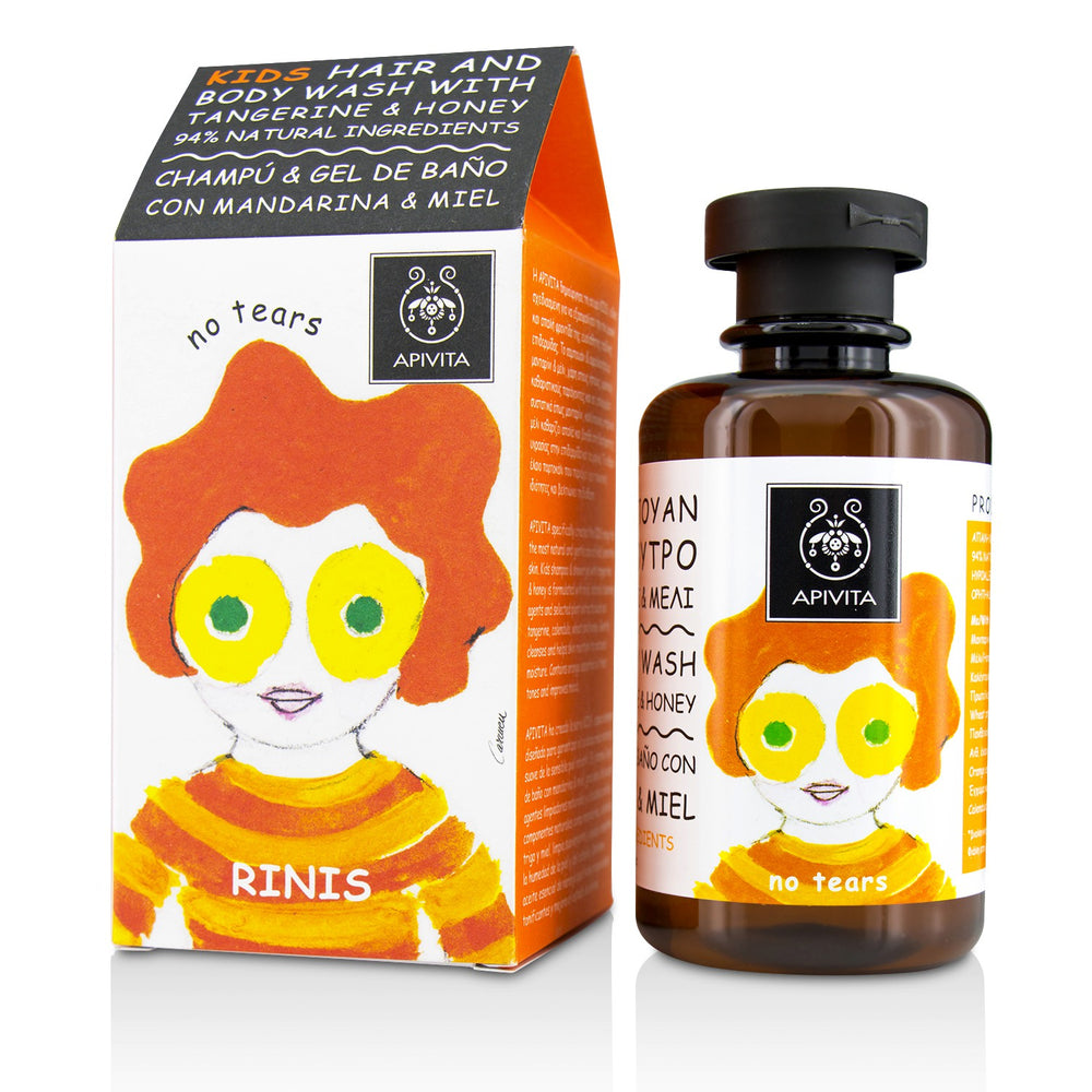 Load image into Gallery viewer, Kids Hair & Body Wash With Tangerine & Honey