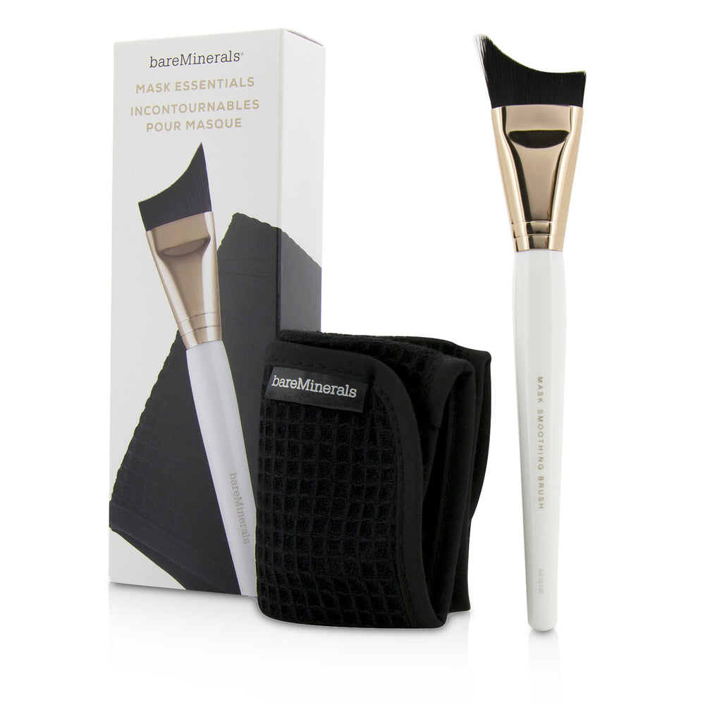 Mask Essentials   Smoothing Brush And Removal Cloth
