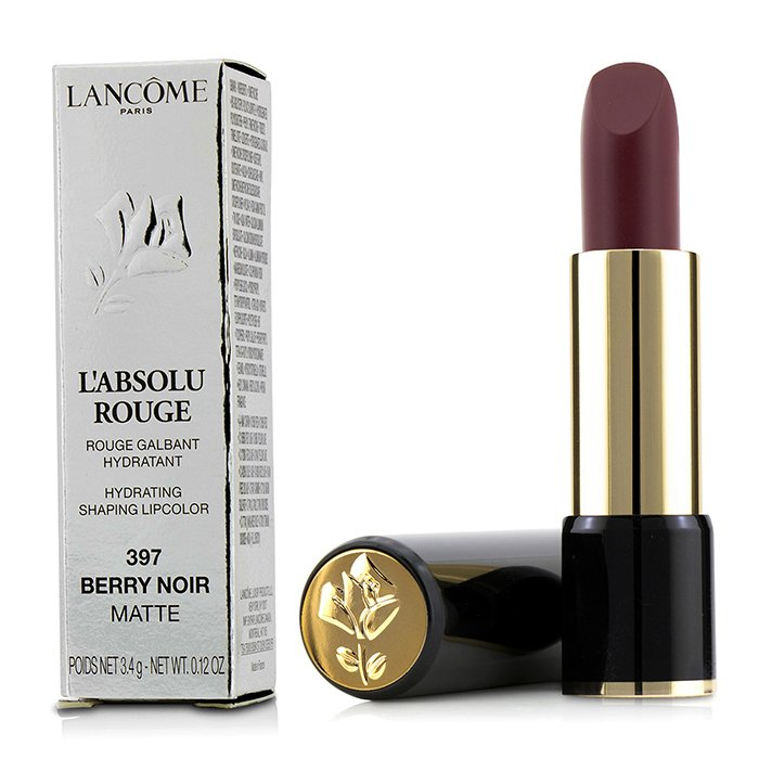 L' Absolu Rouge Hydrating Shaping Lipcolor # 397 Berry Noir (Matte) 208102