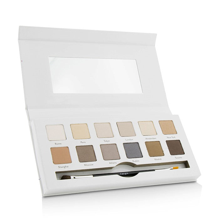 Load image into Gallery viewer, Around The World Eye Shadow Palette (12x Eye Shadow, 1x Shadow Brush)
