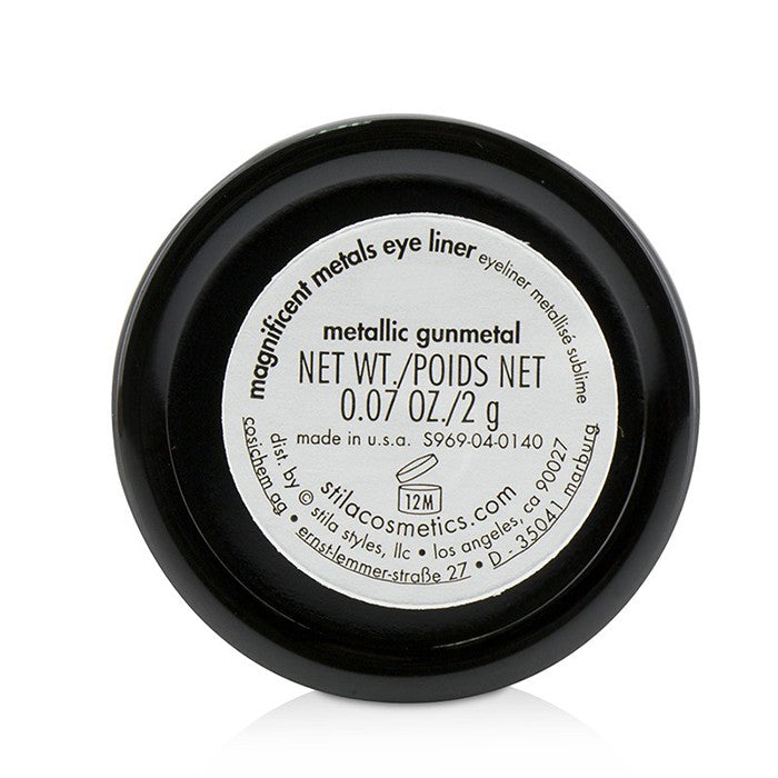 Load image into Gallery viewer, Magnificent Metals Eye Liner   Metallic Gunmetal (Deep Charcoal Shimmer)