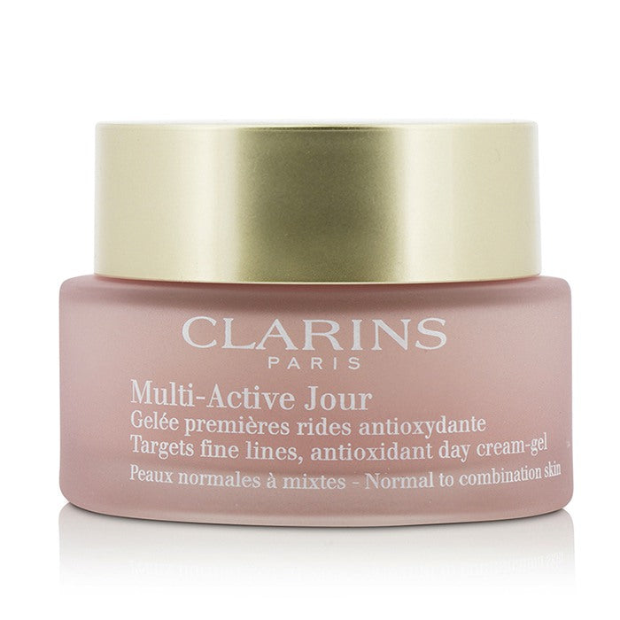 Multi Active Day Targets Fine Lines Antioxidant Day Cream Gel   For Normal To Combination Skin