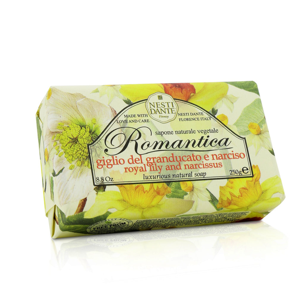Load image into Gallery viewer, Romantica Luxurious Natural Soap Royal Lily & Narcissus 208654